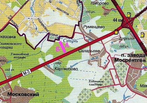КИЕВСКОЕ ШОССЕ, М-3.