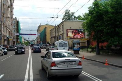 Порно видео на щите шоссе в москве
