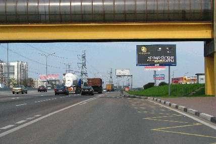 Развязка МКАД и Варшавского шоссе поз.  23. 9 (внутренняя сторона 33.05 км) .