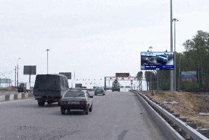 Развязка МКАД и Новорижского шоссе поз.  12. 7 внутренняя сторона.