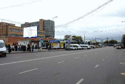 Тушинская метро (McDonalds) .